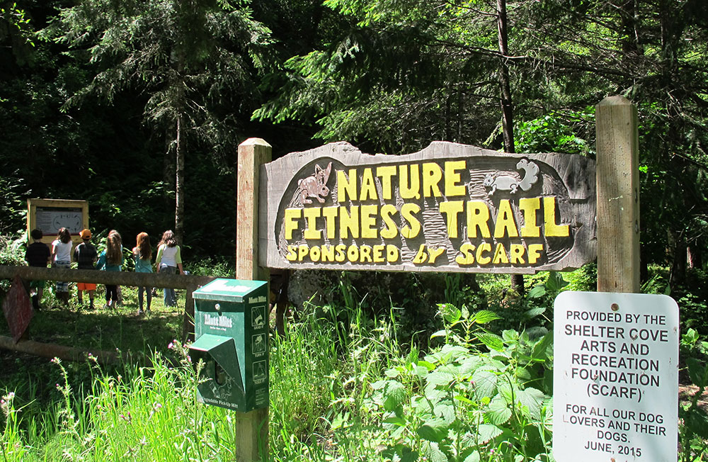 Entrance to the SCARF Nature Fitness Trail